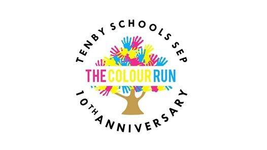 Tenby 10th Anniversary Colour Run