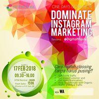 Workshop Dominate Instagram Marketing 0811.9299.555