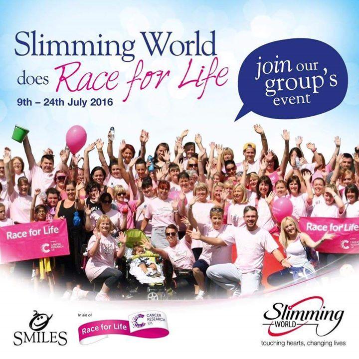 Slimming World Birmingham Race For Life At Sheldon