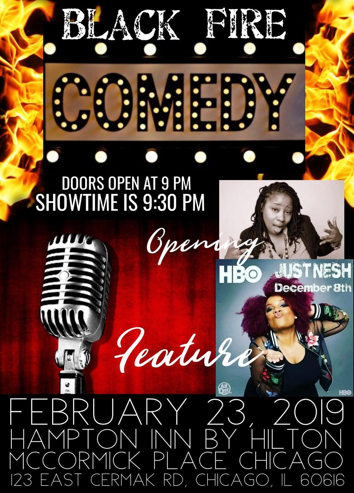 BLACK Fire Comedy Show