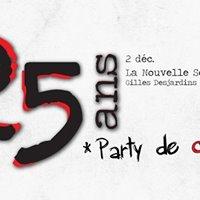 25 ans Party de clture