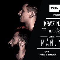Asian Vision Presents Kraiz &amp Nyed and Manus