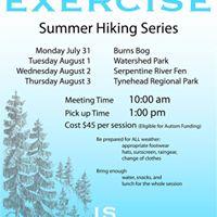 Summer Hiking Series