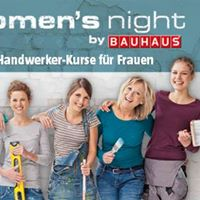 womens night in stralsund at bauhaus deutschland stralsund. Black Bedroom Furniture Sets. Home Design Ideas