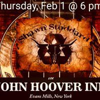 Singer-Songwriter Shawn Stoddard Returns to The John Hoover Inn