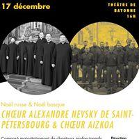 Concert Nol russe &amp Nol basque  Bayonne