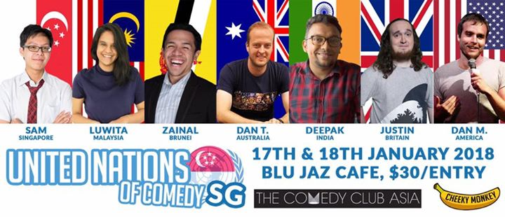 United Nations Of Comedy Singapore