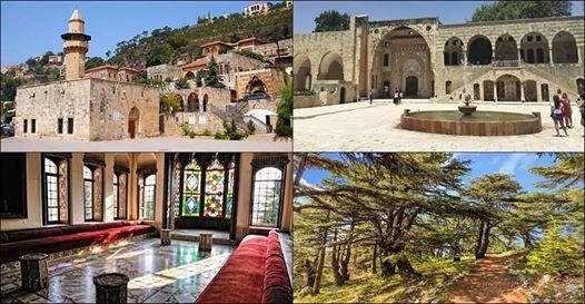 Deir El Qamar - Beiteddine Palace - Chouf Cedars Forest