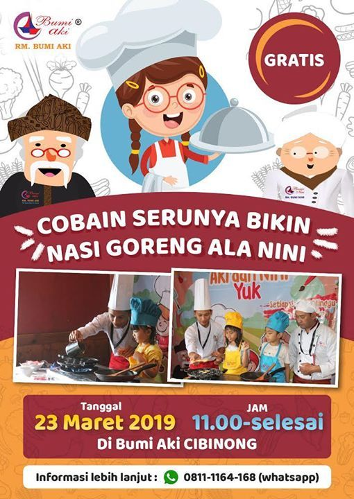 Kids Activity Bikin Nasi Goreng ala Nini