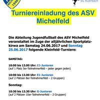 Sportplatzkirchweih Jugendturnier ASV MichelfeldSG Auerbach