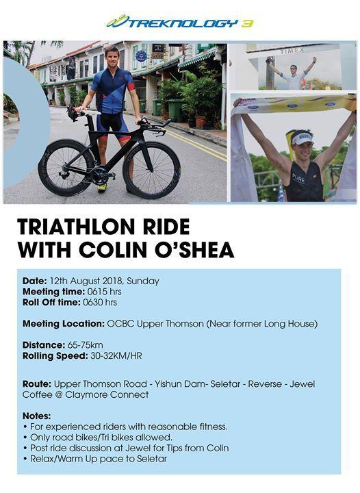Triathlon Ride with Colin