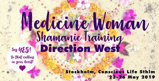 Medicine Woman Shamanic Training - Direction West