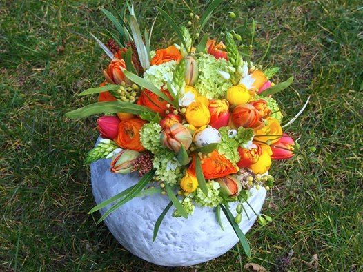 Atelier floral  Pques en fleurs
