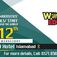 Worldwide Education Expo 2017 12th July 2017 in Karachi