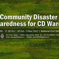 08  Community Disaster Preparedness for CD Wardens (1 week)
