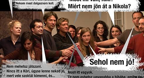 Telthz Mrei - Vikr - Xantus Kiki a csoportban