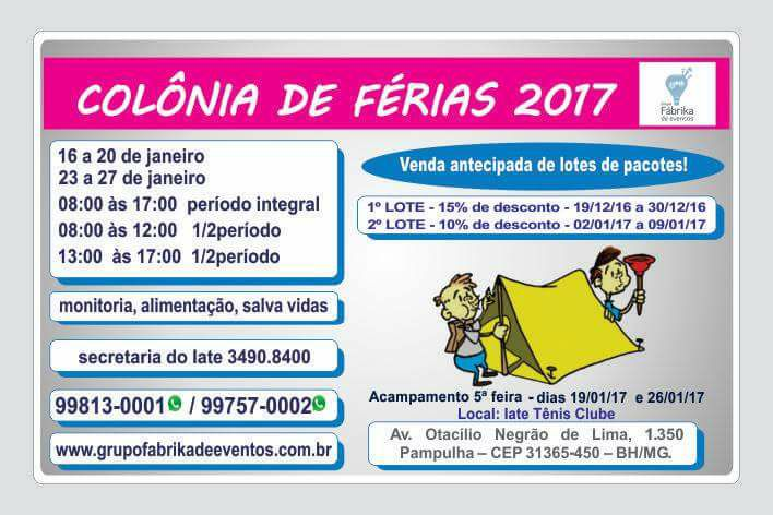 Colnia de Frias 2017