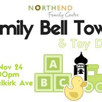 The Family Bell Tower &amp Toy Drive