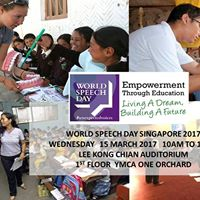 World Speech Day Singapore 2017  Singapore Red Cross