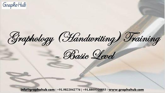 Graphology (Handwriting) Training  Basic Level