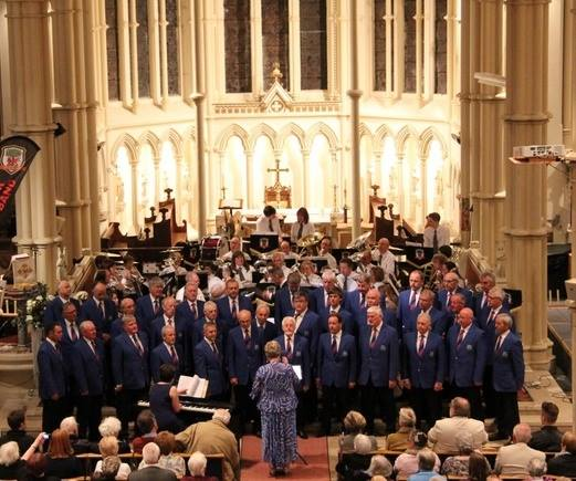 Joint Concert with Builth Male Voice Choir