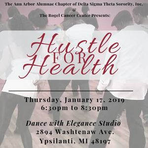 Hustle for Health at Dance With Elegance Health & Fitness