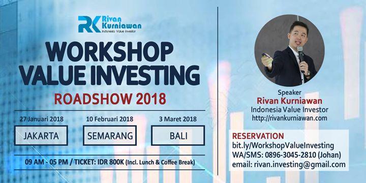 Workshop Value Investing (Jakarta)