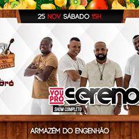 Samba da Feira convida Vou pro Sereno