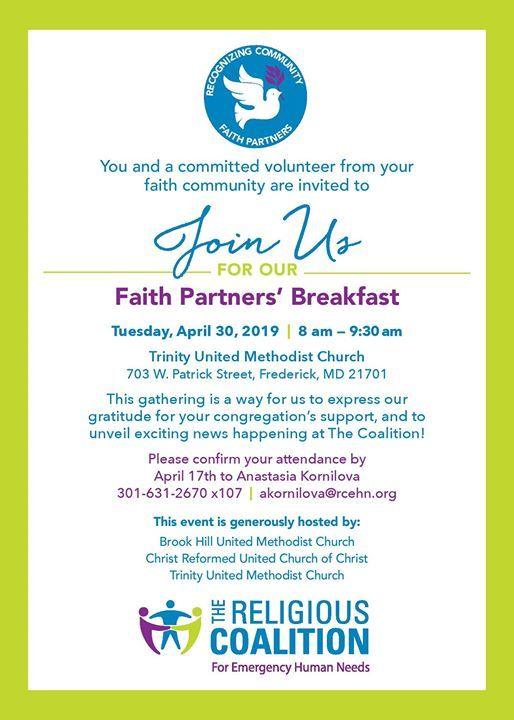 Faith Partners Breakfast