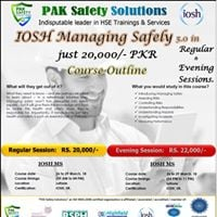 IOSH MS 5.0 Upcoming Session Announcement.