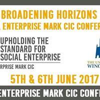 Broadening Horizons - Social Enterprise Mark CIC conference