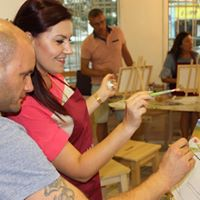 MasterClass Arte Class Varna - paint wine party