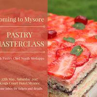 Pastry Masterclass Mysore