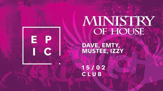 Ministry of House  EPIC Prague