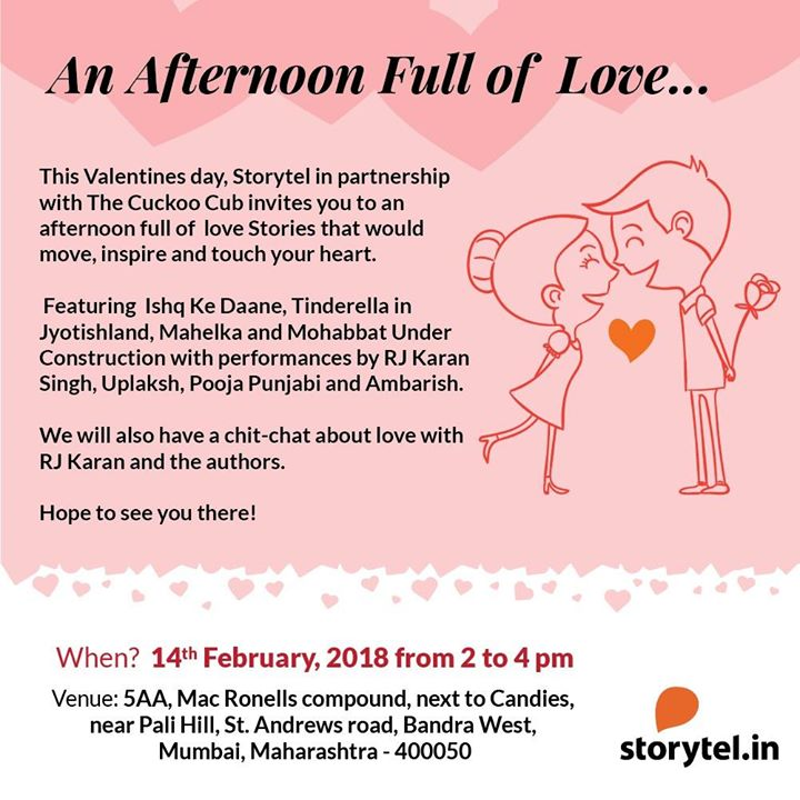 Free Valentines Day Special Storytel Love Stories