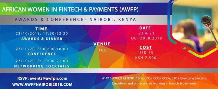 African Women in Fintech & Payments- Nairobi 2018