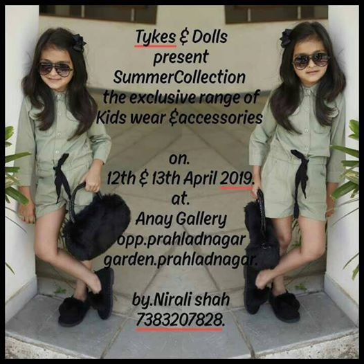 Exclusive Summer Collection by Tykes & Dolls.