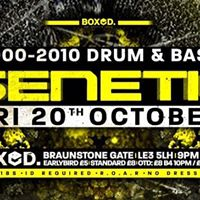 Genetic 2000-2010 Drum &amp Bass Fri 20th October Boxed Leic