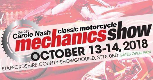 Attending Stafford Classic Bike Show