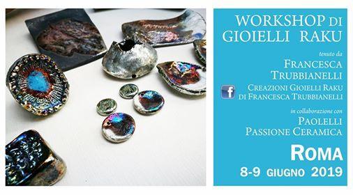 Paolelli Passione Ceramica Roma.Workshop Gioielli In Ceramica Raku A Roma Rome