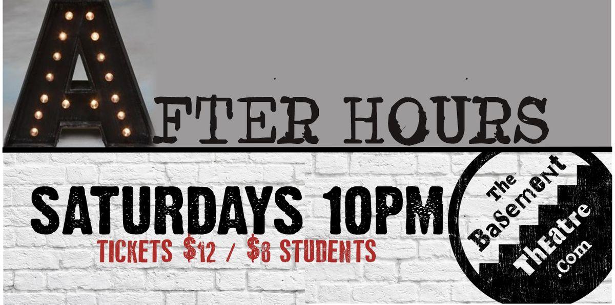 AFTER HOURS - IMPROV COMEDY (Saturdays 10pm) (OCT-DEC)