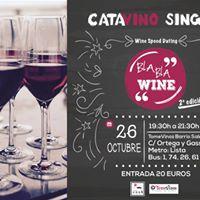 Cata vino Singles BLA BLA WINE 2 Edicin
