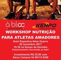 Workshop de nutrio para atletas amadores