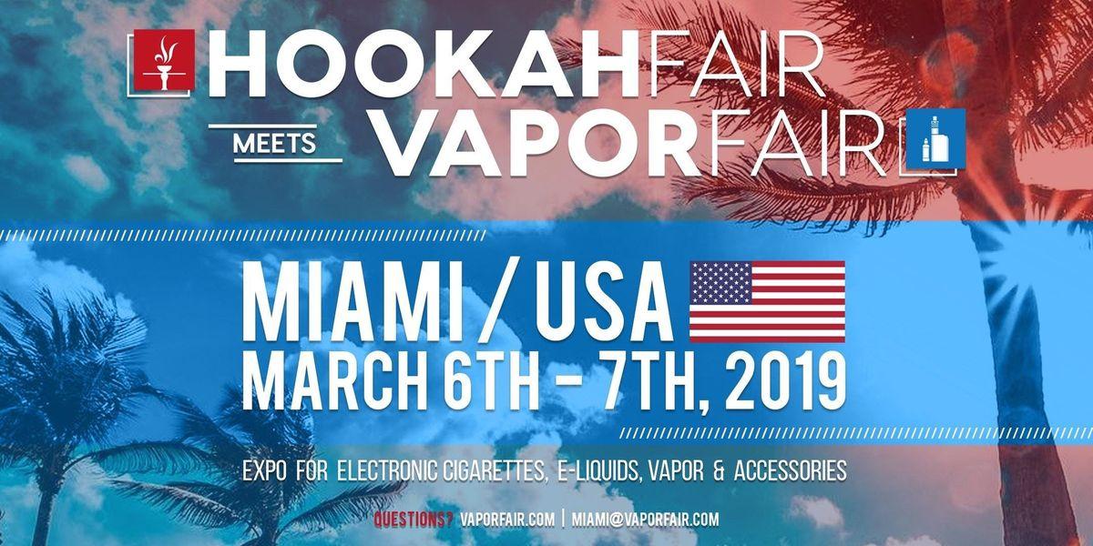 HookahFair meets VaporFair Miami 2019