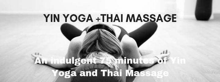 Yin Yoga Thai Massage