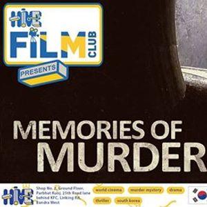Hive Film Club presents Memories of Mder (2003)