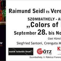 Vernissage in Szombathely - Ungarn