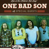 One Bad Son live at the Red Dog