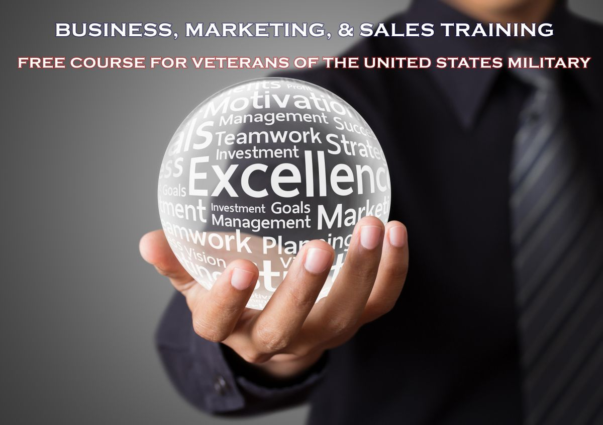 Business Marketing and Sales Training for Veterans