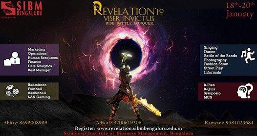 Revelation 2019